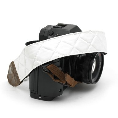Camera Strap (White Leather)||RF10F