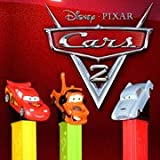 PEZ ペッツ カーズ2、厚足、3種セット、MIB Disney/Pixar CARS2