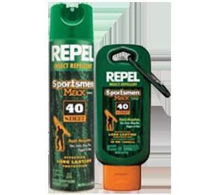 Repel 33801 6.5 oz Sportsmen Max Formula Insect Repellent Aerosol 40% DEET
