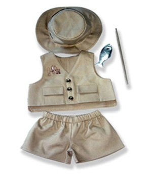 Fisherman Outfit Teddy Bear Clothes Fit 14