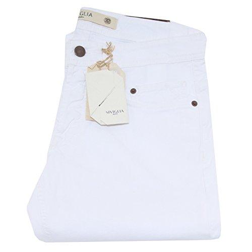 63605 pantaloni SIVIGLIA DENIM jeans pantalone uomo trousers men [34]