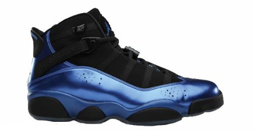 Jordan Six Rings (Foamposite) Black/Varsity Royal (10)