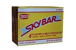 Necco Sky Bar Skybar Chocolate Bar 36 Pack