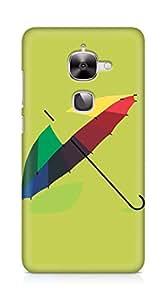 Amez designer printed 3d premium high quality back case cover for LeEco Letv Le 2 (Design umbrella)