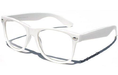 ORIGINAL NERD® Brille 100% Original CLEAR in WEISS