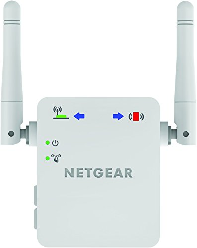 NETGEAR WN3000RP-200UKS 300 Mbps Universal Wi-Fi Range Extender (Wi-Fi Booster) with Smart LED Indicators for High Wi-Fi Coverage