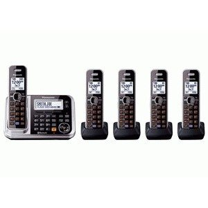Panasonic Consumer 5Hs Link2Cell Bluetooth Wireless Digital Answering System Solution