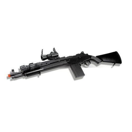 M160-A2 M14 Sniper Spring Airsoft Rifle Combo Short ver. airsoft gun