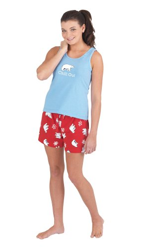 Chill Out Tank and Shorts Pajamas for Women