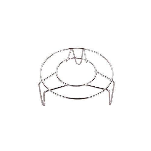 Creative one Stainless Steel Home Kitchenware Round Steamer Rack Stand 2