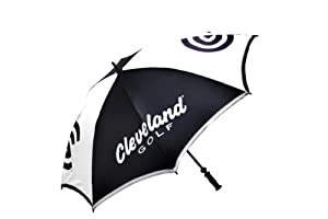 Cleveland Golf 2012 62-Inch Tour Umbrella, Dark Navy Blue White by Cleveland Golf