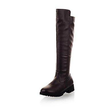 Frauen niedrigen Ferse runden Fuß kniehohe Stiefel (mehr Farben) jetzt kaufen