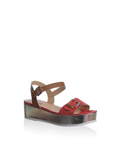 NILA&NILA Sandale rot