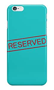 The Fappy Store RESERVED plastic Back Cover for iphone 6