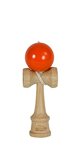 Aloha Kendamas Mini Kendama Glossy Orange