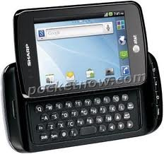 Sharp FX Plus GSM Unlocked Android Touchscreen Phone w/ QWERTY Keyboard and Prepaid Ready for T-Mobile Prepaid, AT&#038;T GO Phone, Simple Mobile, H20, Consumer Cellular.