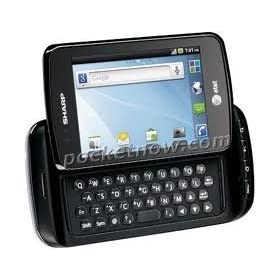 Sharp FX Plus GSM Unlocked Android Touchscreen Phone w/ QWERTY