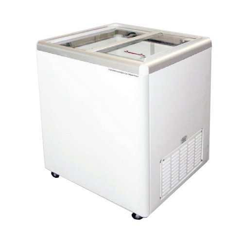 Excellence Euro-8 Sliding Flat Lid Display Freezer 7.5 Cu Ft front-306238