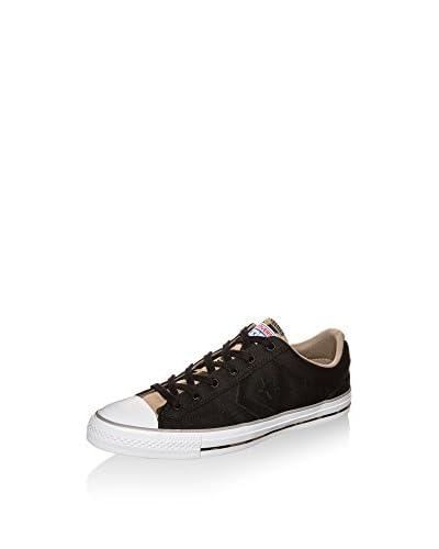 Converse Zapatillas Star Player Ox Sneaker Negro / Beige