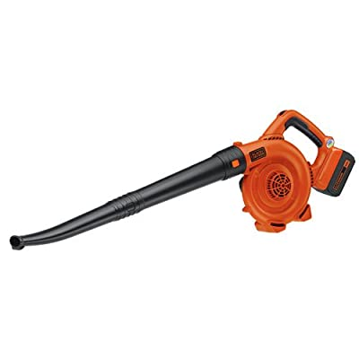 Black and Decker 40V Lithium Ion Sweeper