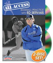 Championship Productions All Access Baseball Practice with Ed Servais DVD by Championship Productions