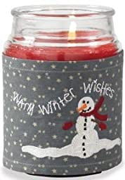 Winter Wishes Candle Wrap