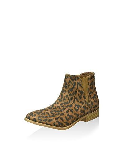 Roxy Botines Chelsea Leopardo