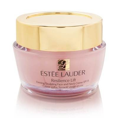 Estee Lauder Resilience Lift Firming / Sculpting Face and Neck Creme SPF 15 for Normal / Combination .5 oz / 15 ml