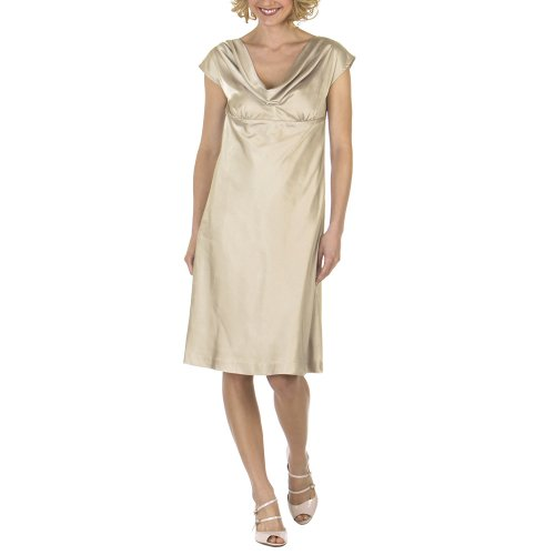 Target Limited Edition Cowl Neck Dress - Beige