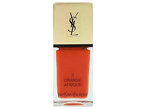 Yves Saint Laurent La Laque Couture, 3 Orange Afrique, Donna, 10 gr