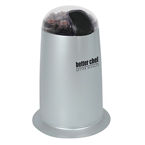 Better Chef Coffee Grinder Plus IM-164S Silver