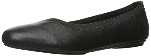 Hush Puppies Kenzie Ballet Flat (Little Kid/Big Kid), Black, 3.5 M US Big Kid (Hush Puppies Shoes Kids compare prices)