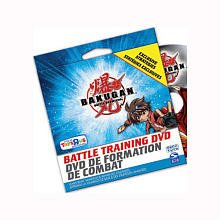 BAKUGAN EXCLUSIVE BATTLE TRAINING DVD WITH ADVANCED STRATEGIES - 1