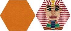 Large Hexagon Pegboard