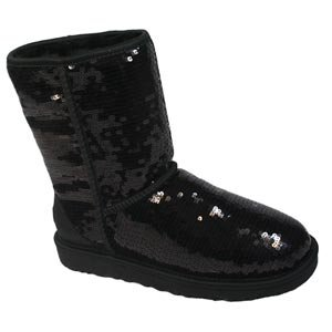 UGG Australia Women's Classic Sparkle Short Boots,
