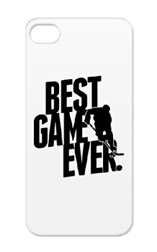 Ice Hockey - Best Game Ever Black Protective Case For Iphone 5/5S Scratch-Free Ice Hockey Team Ice Skating Hockey Hockey Sports Best Game Ever Sport Skating Winter Sports Ice Hockey - Love For The Game