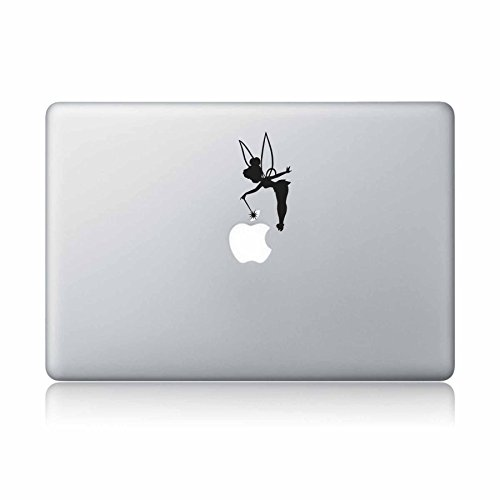 Tinker Bell Fairy Peter Pan Disney Macbook Laptop Decal Vinyl Sticker Apple Mac Air Pro Laptop sticker