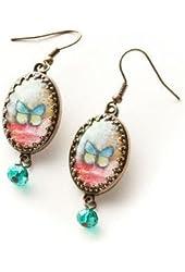 Kelly Rae Roberts Butterfly Earrings
