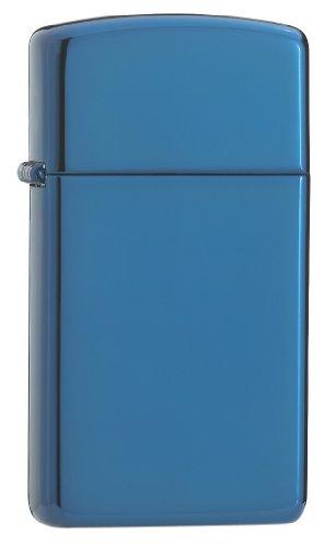 Zippo Slim Sapphire Lighter (blue)
