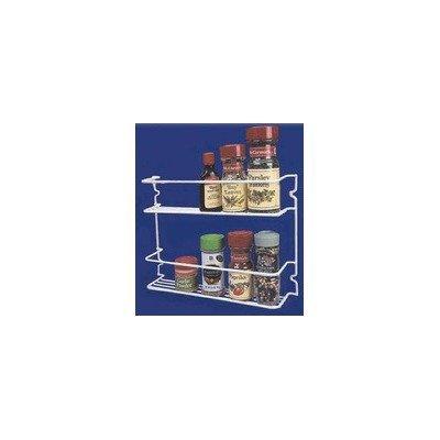 Grayline 40504 Two Shelf Spice Rack WhiteB0000ULGOE