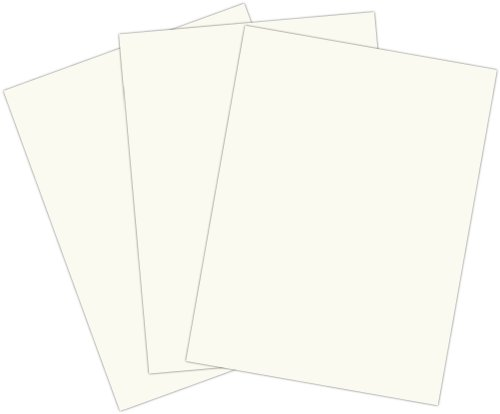 Roselle 9x12 Vibrant Construction Paper, 50 count, Bright White (CON0191250) - 1