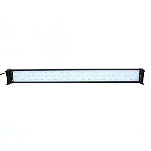 amzdeal-Aquarium-Beleuchtung-RGB-LED-Lampe-Leuchten-144LED-Schwarz