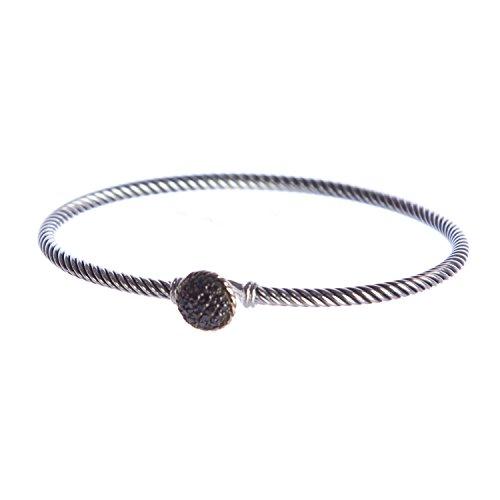 david-yurman-womens-chatelaine-bracelet-w-black-diamonds-medium-black