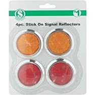 dib Global Sourcing GA002 Adhesive Reflectors - Smart Savers Pack of 12