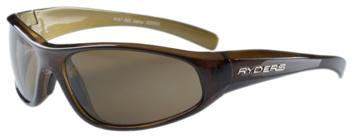 Ryders Eyewear Zephyr Sunglasses, Caramel Frame/Brown Lens