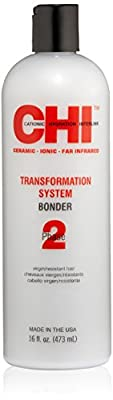 Cheapest CHI Transformation System Bonder Phase 2 Dye for Resistant Hair, 16 fl. oz. from Mainspring America, Inc. DBA Direct Cosmetics - Free Shipping Available