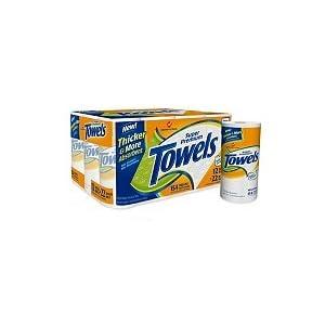 Member's Mark Super Premium Select and Tear Paper Towels - 12 Rolls
