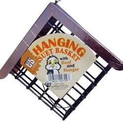 Cheap C&S Hanging Suet Basket w/ roof (CS709)