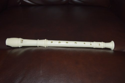 Recorder for Kids: White Plastic Flute, a great musical instrument for Children - 1