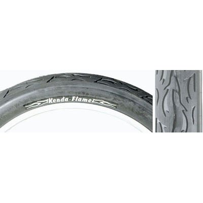 Sunlite Cruiser Flame Tire 26 x 3.0 Black/Black